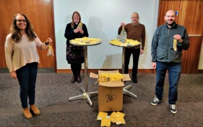 Little bags of hope and blessing in Huddersfield