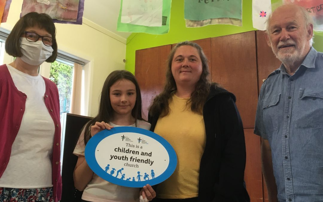 Shire Green URC is 'Children and Youth Friendly'
