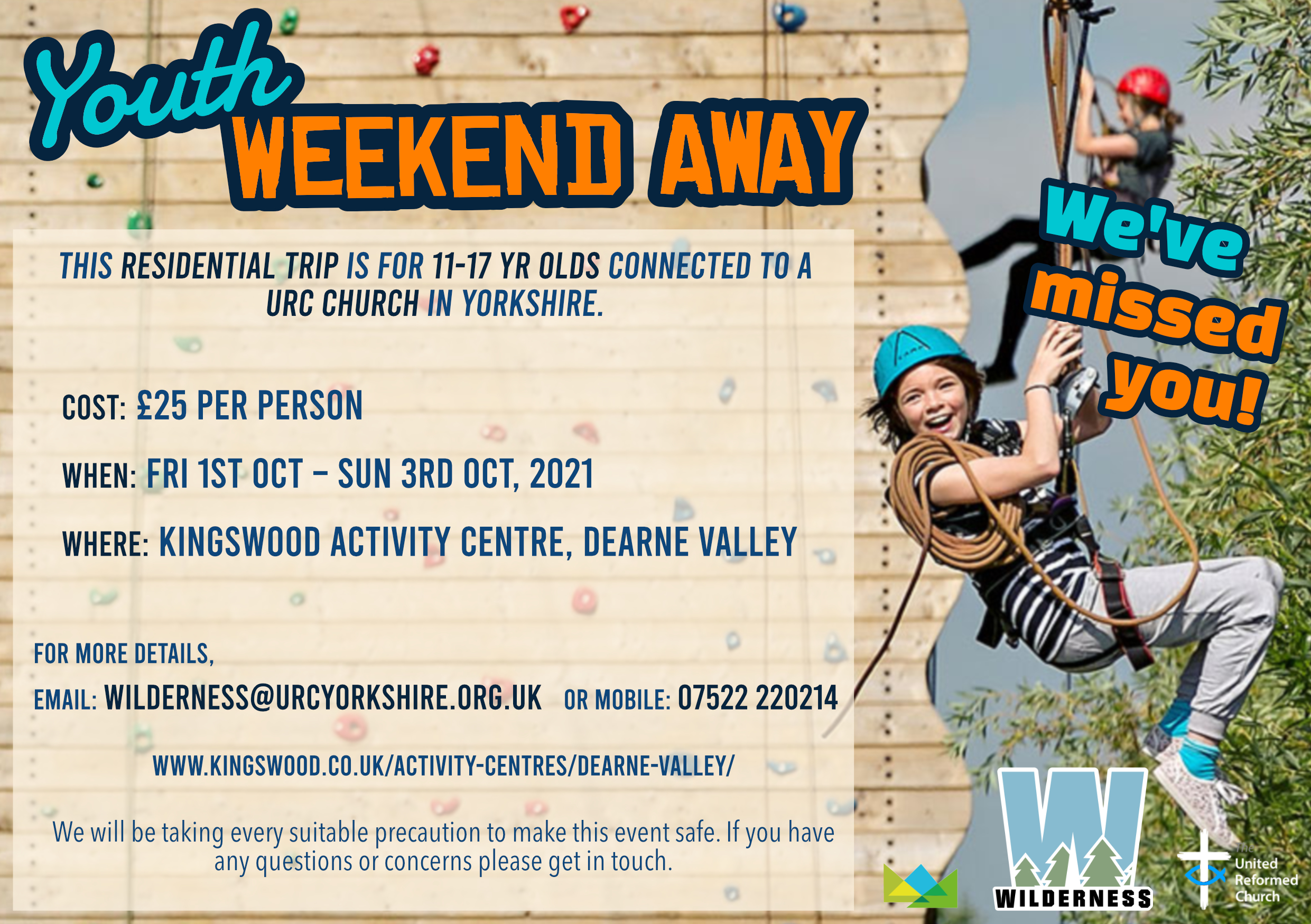 Youth Weekend Poster